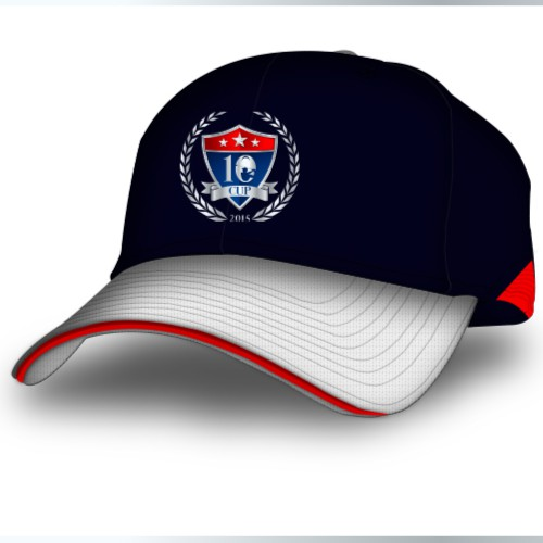 Golf logo with the title '10 Cup'
