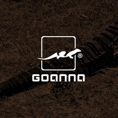 Literal logo with the title 'Logo for GOANNA'