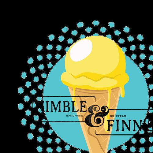 Ice cream t-shirt with the title 'Ice Cream T-shirt Design '