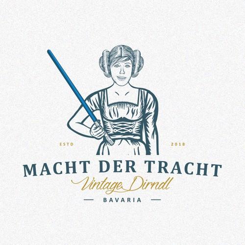 Dress logo with the title 'Macht der Tracht'