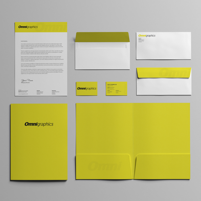 Stationery Set for Digital Print Company