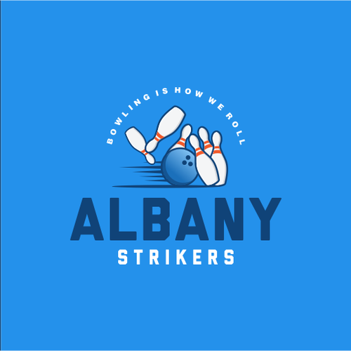 Hobby design with the title 'Albany Strikers'