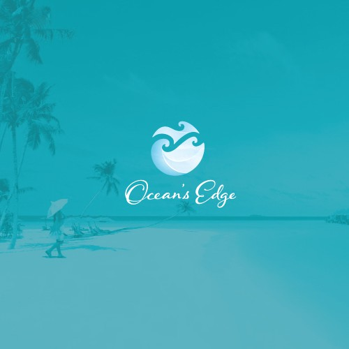 Edge logo with the title 'Modern logo for resort in Belize'