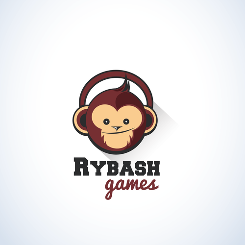 Channel design with the title 'Logo concept for gaming channel'