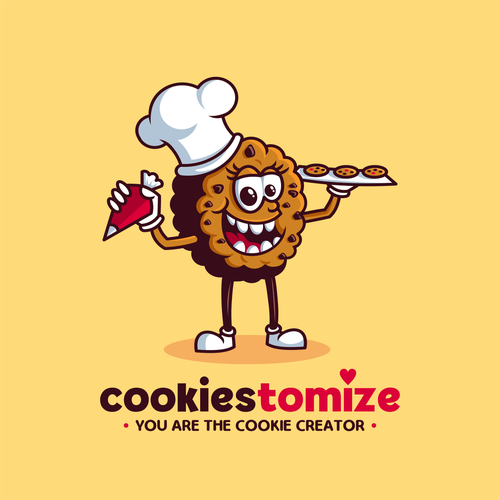Cookie logo with the title 'Cookiestomize'