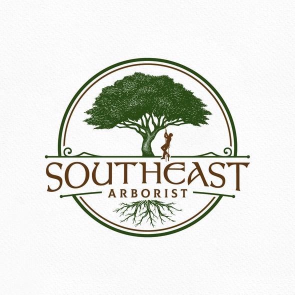 Arborist logo with the title 'Tree Arborist'