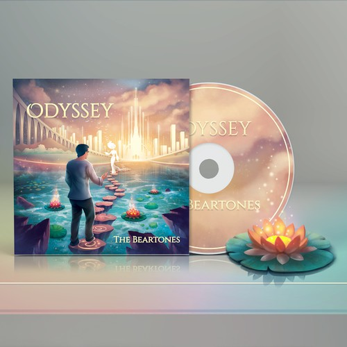 Gold packaging with the title 'Odyssey(1-to-1 project)'