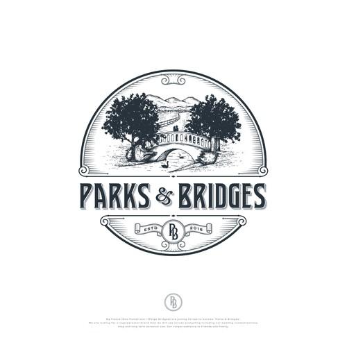 Classic logo with the title 'Parks & Bridges'