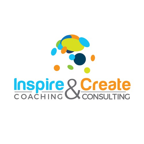 Circle brand with the title 'Inspirational logo for coaching company'