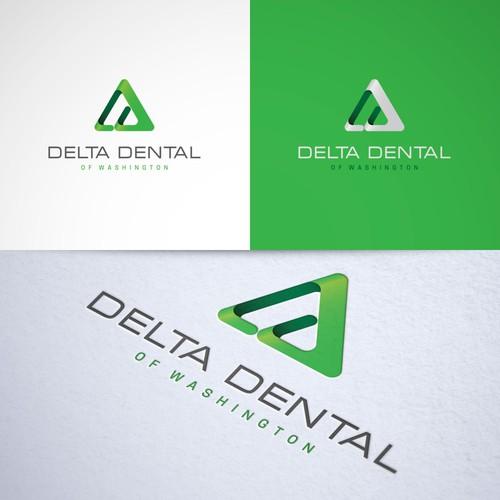 Logo artwork with the title 'Logo concept for 'Delta Dental''