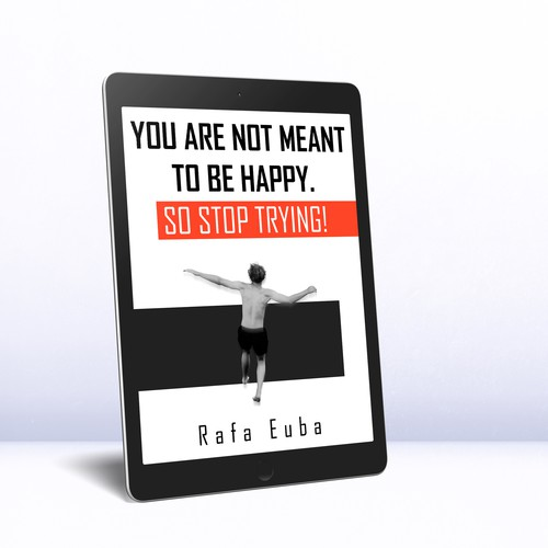 Psychology book cover with the title 'Ebook cover design'