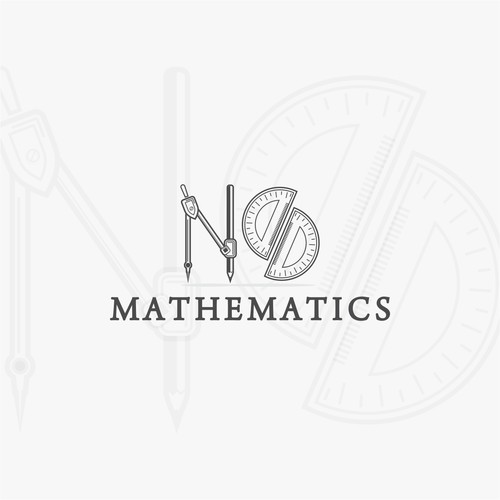 Mathematics logo with the title 'Mathematics'