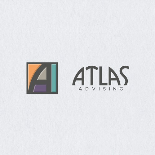Frame logo with the title 'Atlas Advising'