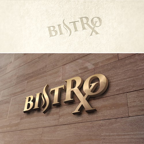 Bistro design with the title 'New Cafe in a Modern Medical Centre '