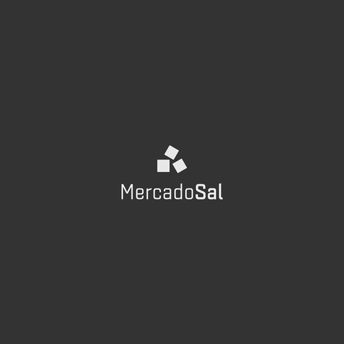 Salt logo with the title 'Mercado Sal, salt market'