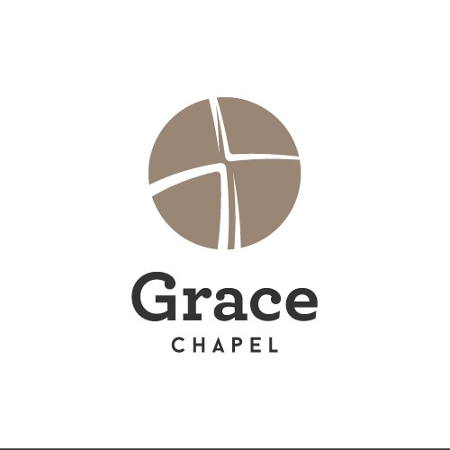 Grace logo with the title 'Experimental Minimalist Church Logo'
