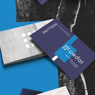 Business cards for Pedal