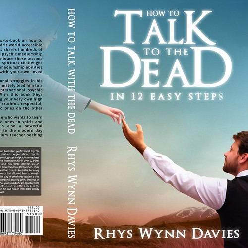 Spiritual book cover with the title 'spiritual journey to talk with dead '