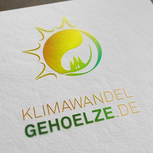 Climate design with the title 'Wald Logo'