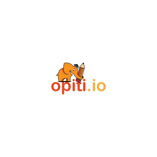 Graduation logo with the title 'opiti.io'