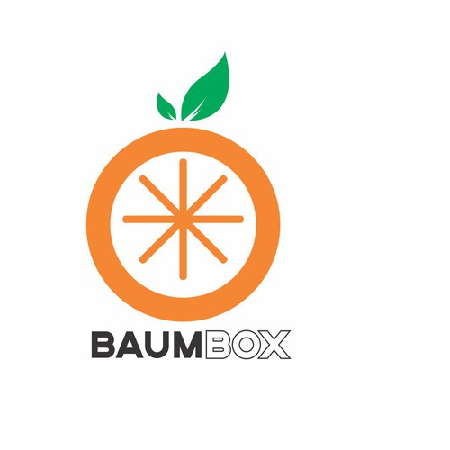 Citrus logo with the title 'logo concept for BaumBox'