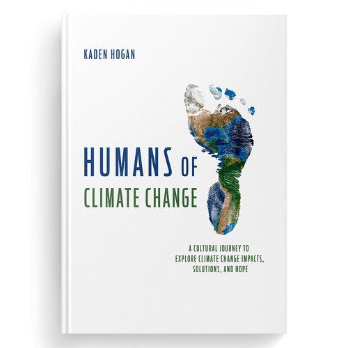 Change design with the title 'Humans of climate change'