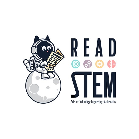 Science design with the title 'Read Stem'