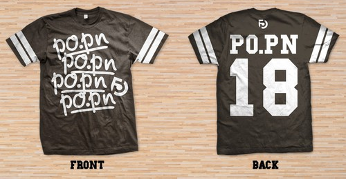 Hip hop t-shirt with the title 'Po.Pn Taiwan - Tee'