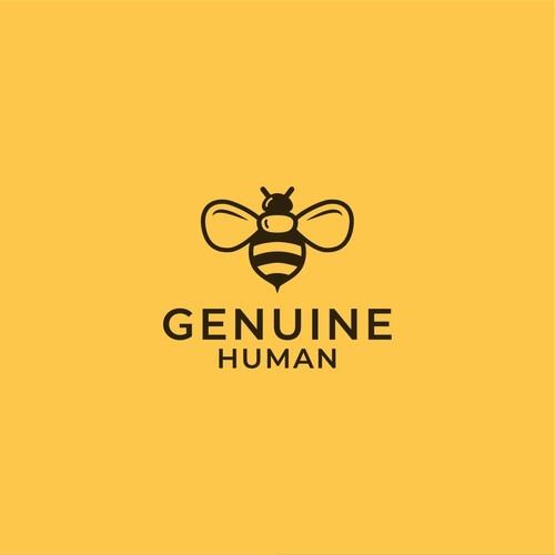 Bumblebee design with the title 'BEE'