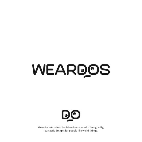 Weird logo with the title 'WEARDOS'
