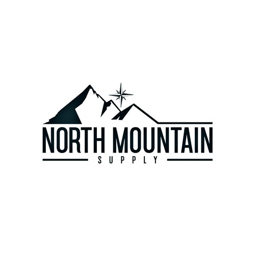 Supply logo with the title 'Logo for North Mountain'