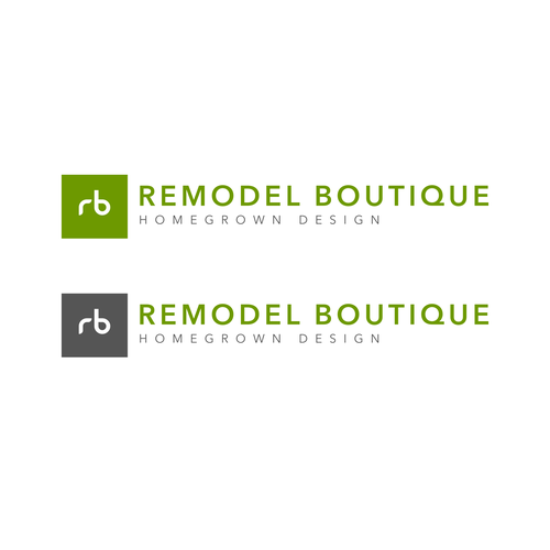 Remodeling logo with the title 'Remodel Boutique'
