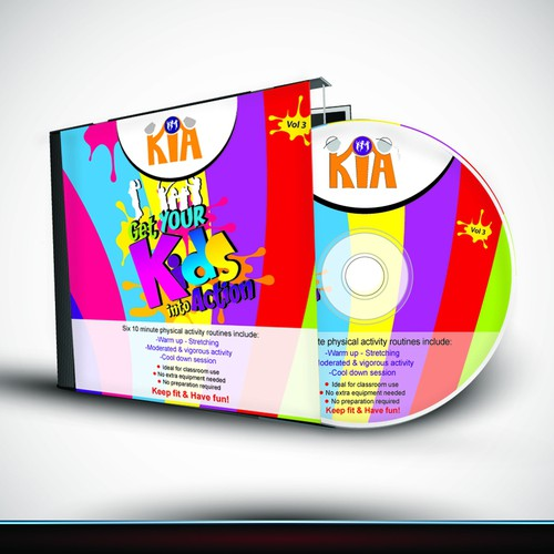 CD packaging with the title 'CD Cover & Jacket'