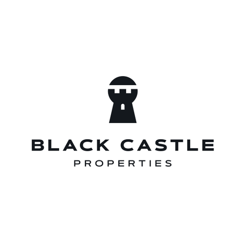 Castle logo with the title 'Black Castle Properties '