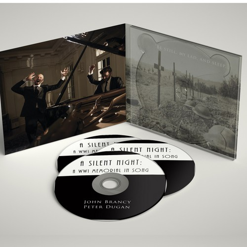 CD artwork with the title 'CD design'