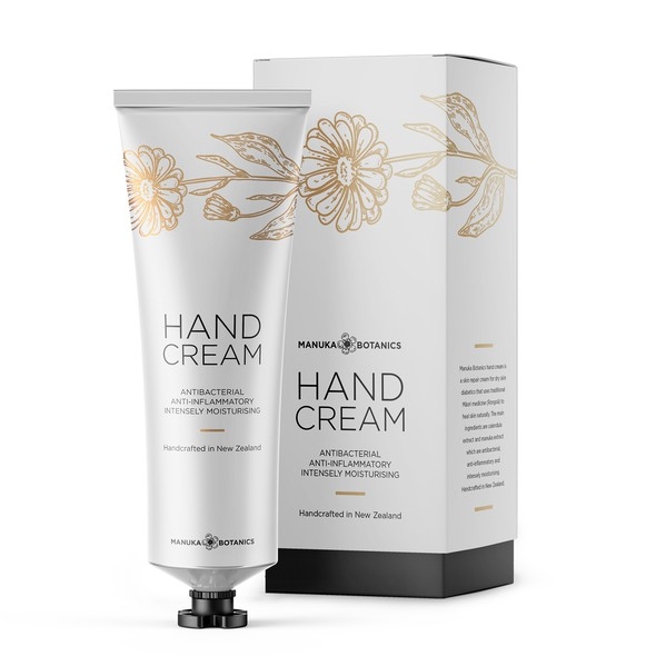 Beauty packaging with the title 'Hand cream packaging'