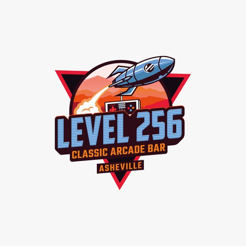 Arcade logo with the title 'Level 256'