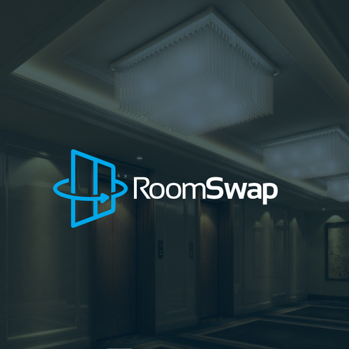 Door logo with the title 'RoomSwap'