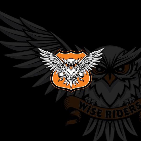 Harley Davidson design with the title 'Logo concept for Harley Davidson Club'