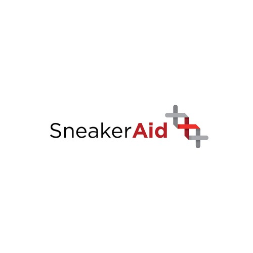 Sneaker logo with the title 'Logo concept for a sneaker cleaning product'