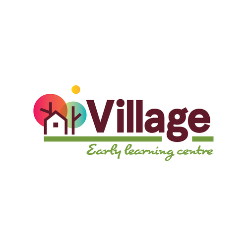 Village design with the title 'Village'