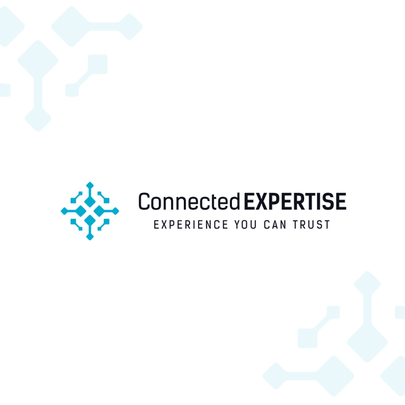 Circuit design with the title 'Connected Expertise'