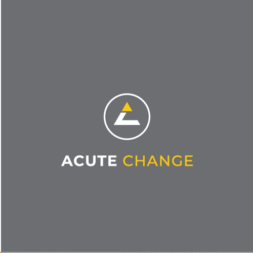 Pictogram design with the title 'Acute Change'