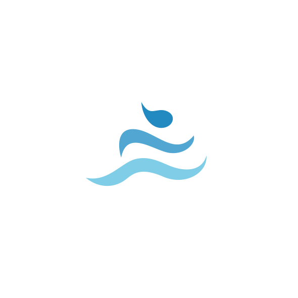 Movement design with the title 'Flow Logo'