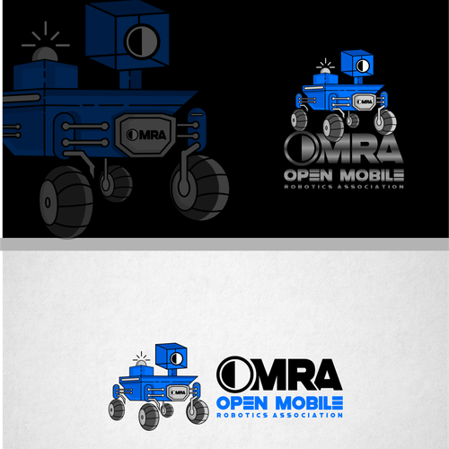 Astronomy design with the title 'OMRA '