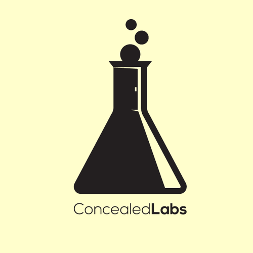 Secret design with the title 'Concealed labs'