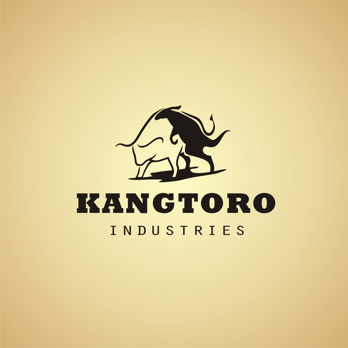 Kangaroo logo with the title 'Kangtoro motorcycle industries'