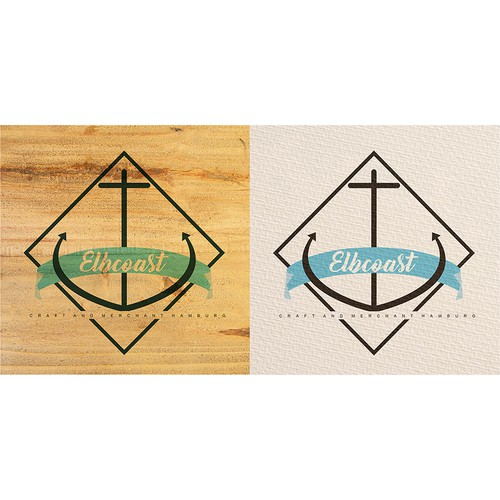 Maritime logo with the title 'Logo concept for vintage maritime fashion & interior business'