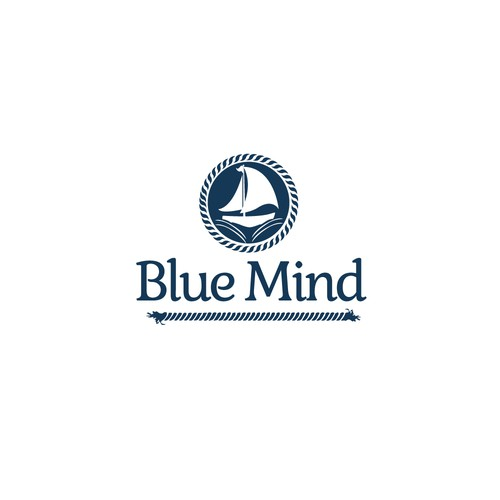 Ferry logo with the title 'Blue Mind'