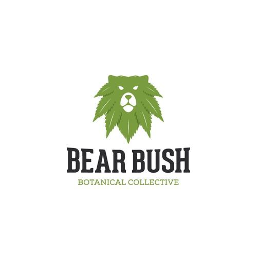 Hemp brand with the title 'Logo for Bear Bush'